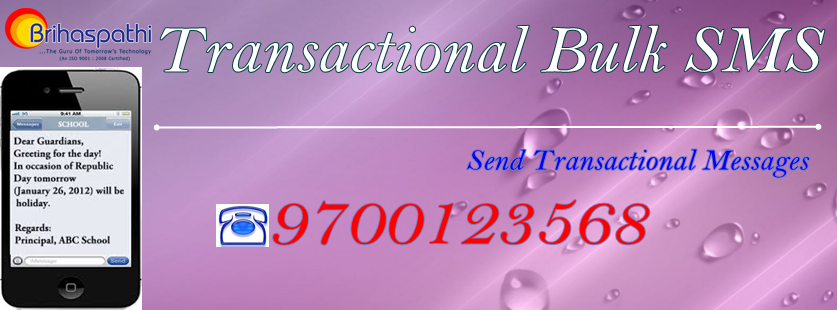 Transactional Bulk SMS Marketing
