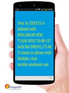Bank account Transactional Bulk SMS