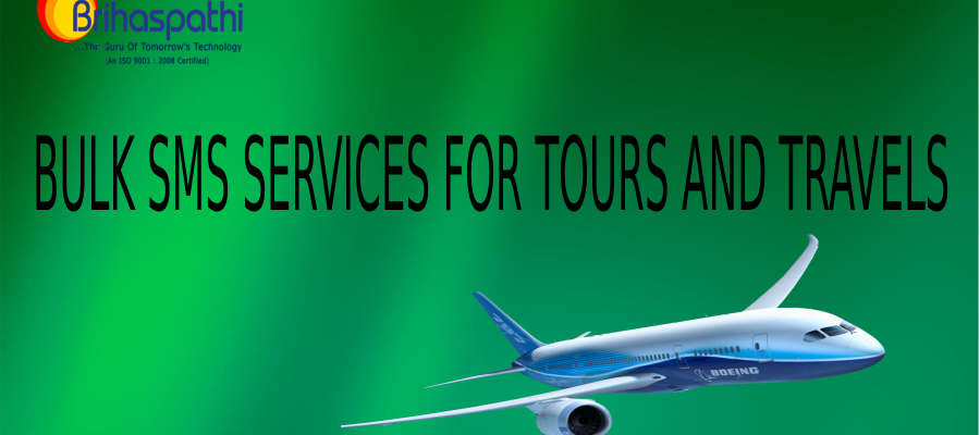 bulk sms services for tours and travels